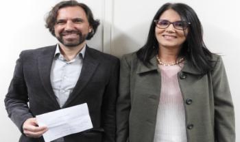 Emerson César de Campos e Cintia Aguiar<br>Foto: